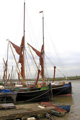 Thames barges (jpotto) Tags: uk essex maldon thamesbarge transport boat barge ship thehythe dunkirk pudge littleship riverblackwater