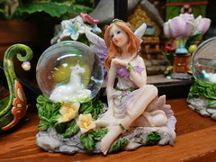 Amana General Store Visit 6-30-18 05 (anothertom) Tags: amanaiowa amanacolonies store amanageneralstore shopping inside display unicorn cute fairy figurine wings 2018 sonyrx100v