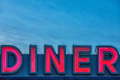 NEwington, CT - 11/23/16 - #365 (joefgaylor) Tags: neon neonsign neonlight newengland newington diner diners roadsidefood roadside americana foodies fjgaylor josephgaylorphotographer fineartphotography joegaylorphotography joegaylor