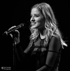 Jackie Evancho @ Triple Door (Kirk Stauffer) Tags: kirk stauffer photographer nikon d5 adorable amazing attractive awesome beautiful beauty charming cute darling fabulous feminine glamour glamorous goddess gorgeous lovable lovely perfect petite precious pretty siren stunning sweet wonderful young female girl lady woman women live music tour concert show stage gig sing singer vocals vocalist perform performer musician band lights indie pop classical long blonde hair wavy blue eyes white teeth model tall fashion dress heels style portrait photo smile smiling teen black