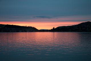 Sunset at Kalamalka Lake - Coldstream, BC
