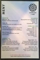 Chirashis meny november 2017