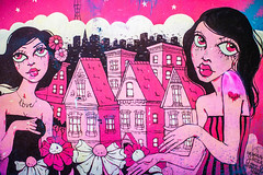 Beautifully Meaningless (Thomas Hawk) Tags: america bayarea california sf sfbayarea sanfrancisco usa unitedstates unitedstatesofamerica graffiti pink fav10