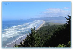 Cape Lookout Viewpoint (MEA Images) Tags: capelookoutviewpoint pacificocean seascape water waterscene waterscape tide ocean beach hills nature oregon canon picmonkey andersonsviewpoint gammonlaunch threearchrocks