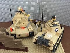 1942 Ranger Surprise MOC_02 (skaasz) Tags: lego brickmania afol legoww2 mto armyrangers ww2