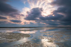 A short moment in time! (karindebruin) Tags: goereeoverflakkee nederland slikkenvanflakkee thenetherlands zonsondergang zuidholland clouds sunset wolken