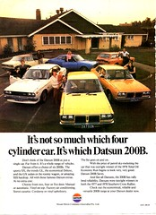 1979 Datsun 200B Range Nissan Aussie Magazine Advertisement (Darren Marlow) Tags: 1 2 7 9 19 79 1979 d datsun n nissan 20 200 200b b s sedan w wagon coupe c car cool collectible collectors classic a automobile v vehicle j jap japan japanese asian 70s