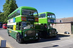 IMGP2166 (Steve Guess) Tags: ansteypark alton hampshire hants england gb uk bus rally show aldershot district dennis loline iii 488kot 462eot