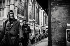Out of focus, out of time (damar47) Tags: bologna street streetphotography citycenter pentax pentaxart pentaxian 21mm wideopen people streetstyle k30 streetlife urban blackandwhite blackwhite bnw biancoenero monotone monoart monochrome emiliaromagna italy italia hipster walking corner angolo piazzamaggiore cathedral chiesa sanpetronio lightroom adobelightroom lr5 ricohpentax