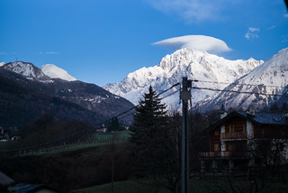 Remembering Winter - Mont Blanc Wearing A Hat