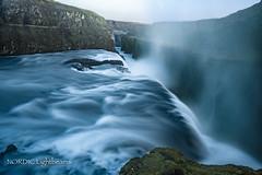 Iceland - The Golden Falls III (NORDIC Lightbeams) Tags: ed1240mmf28 gullfoss island goldencircle wasserfall langzeitbelichtung gullnihringurinn iceland olympuszuiko bulbexposure longtimeexposure mft microfourthirds waterfall suðurland is