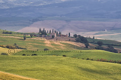 THE VAL D'ORCIA (mark_rutley) Tags: europe holiday italy roadtrip tuscany vacation rural farm farming sky hills clouds landscape trees pienza