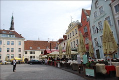 Ciudad vieja (Tallin, Estonia, 10-6-2015) (Juanje Orío) Tags: estonia tallin 2015 patrimoniodelahumanidad worldheritage plaza mercado