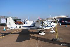 G-CDVI Aerosport Ikarus C42 FB80, Airbourne Aviation Ltd, RAF Fairford, Gloucestershire (Kev Slade Too) Tags: gcdvi aerosport ikarus c42 fb80 airbourneaviationltd