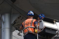 DSC01201 (The Unofficial Photographer (CFB)) Tags: alanjulian chris hunter aviation restoration woking deardiaryjuly2018 2018 alanallen aln julian brooklands history hiviz
