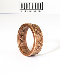Aurar Handmade engagement ring (olbrychtrings) Tags: handmade handcrafted iceland island copper ring band jewelry jewellery boho stylish vintage beautiful fashion signet rings for man woman wedding engagement gift