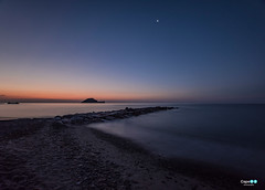 Alassio all' alba (capellini.chiara) Tags: liguria alassio sea mare summer estate sunrise alba