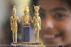 IMG_7661 (mrwalli) Tags: challengeyouwinner cyunanimous louvre egyptian child sculpture figure depthoffield gold blue paris