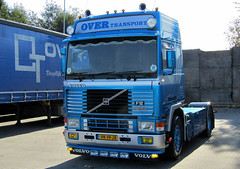 Volvo F12 Over Transport Emmercompascuum (Lucas Ensing) Tags: volvo f12 over transport emmercompascuum