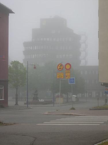 Vetlanda i dimma