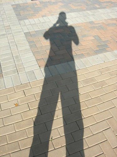 shadow selfportrait dan tall
