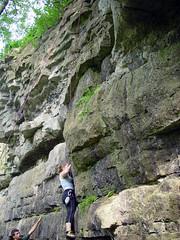 DSC07063 (ridingsilky) Tags: climbing becky august2006 highcliffstatepark