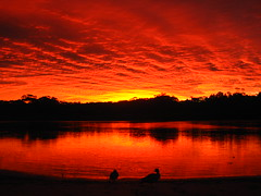 neon (*omnia*) Tags: sunset red topf25 water topv111 clouds river topv333 australia estuary coffsharbour coffscreek pc2450 auspctagged
