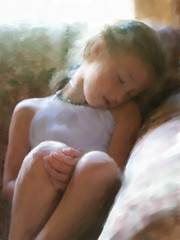 ~After A Log Day~..jpg (ddk4runner) Tags: sleeping copyright painterly girl digital photoshop painting painted painter allrightsreserved dozing corel ddk4runner copyright2008donnakerley copyrightdonnakerley donnakerley
