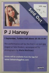 PJ Harvey @ The Tate
