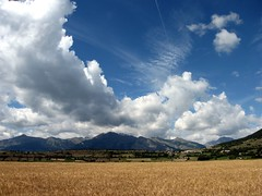 glorious sky (Pierre Metivier) Tags: vacation sky cloud mountain france alps field landscape europe ancelle champsaur canons80