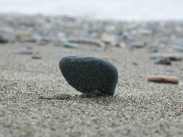 Rock in balance