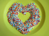 I love Candy Sprinkles (ansy) Tags: candy heart sweet sweets lookatme greenplate kiss2 candysprinkles kiss3 kiss1 kiss4
