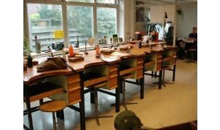 Classroom for goldsmiths-werkplaats Emmen Edelsmidse Elisa