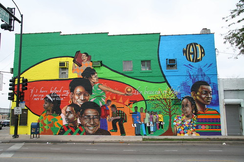 New Mural in lawndale