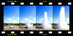 Geyser: the sequence (A@lbi) Tags: canon iceland lomo sigma canon350d geyser geysir albi lomoeffect