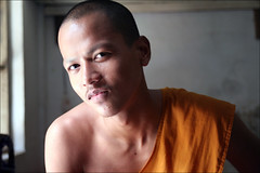 Khmer Smile: Sensovesai (mboogiedown) Tags: travel boy people orange man asian temple asia cambodia peace cambodian khmer robe buddhist south faith religion culture belief meeting monk buddhism east monastery lucky southeast fe wat shoulder kampong province chang cultural phnom monastic saffron sangha penh robes phen kampuchea mapcambodia cambogia theravada travelforpeace ichigoichie camboge sensovesai vesai beatravelernotatourist itsallaboutthepeople dontjustseetheworldexperienceit experiencecambodia buddhistnations livingfaith ifthephotographerisinterestedinthepeopleinfrontofhislensandifheiscompassionateitsalreadyalottheinstrumentisnotthecamerabutthephotographer~evearnold