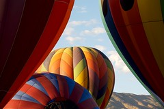Curtain Call (Don Baird) Tags: park city party festival balloons fun canon5d hotairballoons balloonfestival ascending ascention galaevent flickrgold