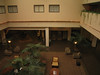 View of Hotel Atrium from my room at Radisson Paper Valley Hotel in Appleton, Wisconsin