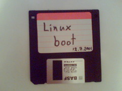 Linux boot floppy (mpolla) Tags: cameraphone boot retro floppy linux basf 144 bootfloppy