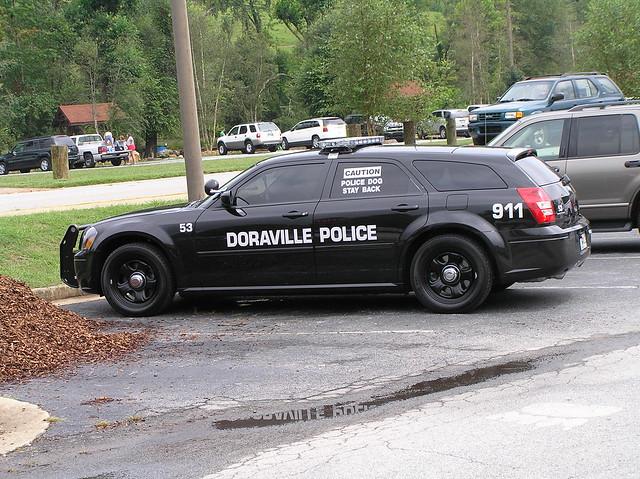 car ga police helen dodge magnum doraville