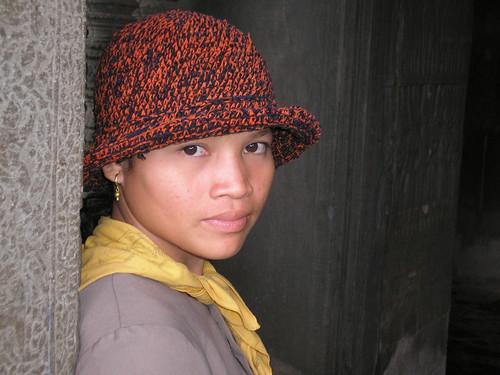 CAMBODIA: Temple Girl