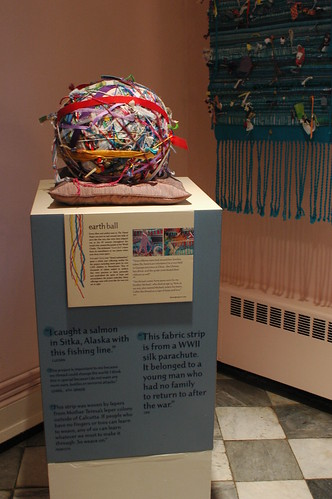 """Earth Ball"", Threads Project"