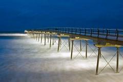 Misty waters (~Glen B~) Tags: uk night wow pier bravo cleveland teesside saltburn saltburnbythesea satelliteportfolio
