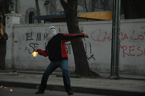 A molotov Cocktail