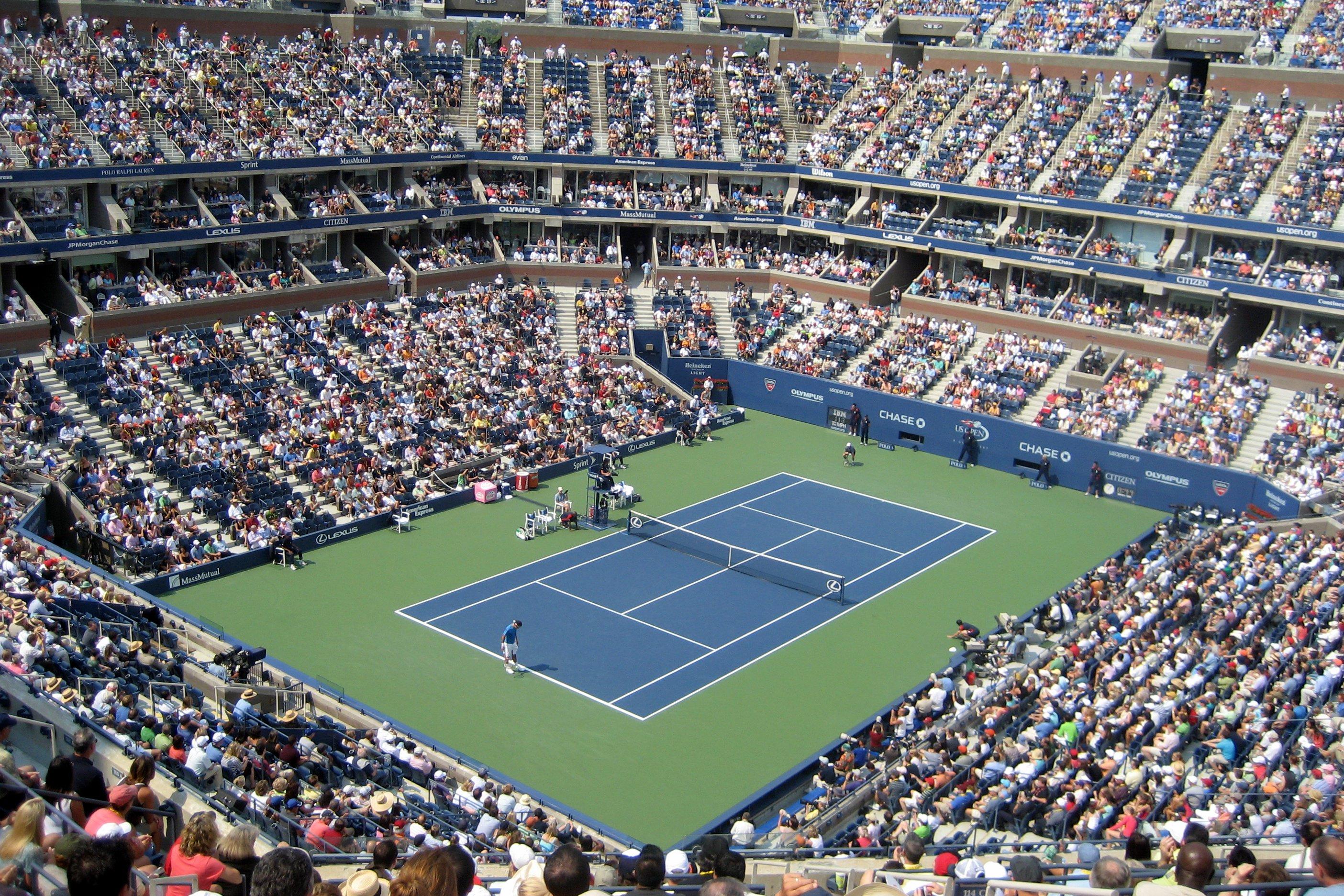 Map Of Arthur Ashe Stadium The Full Wiki - Us Open Tennis Map