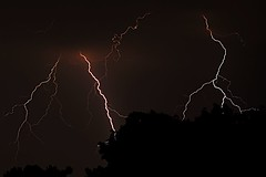 Loud One! (bonsaikiptb) Tags: longexposure light sky storm nature night clouds ilovenature nikon bestviewedlarge kip electricity lightning d200 lightningbolt 18200mmf3556gvr nikond20018200vr3556g