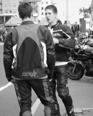 Young Bikers (katenadine) Tags: motorcycles bikes dorset motorbikes poole poolequay bikenight