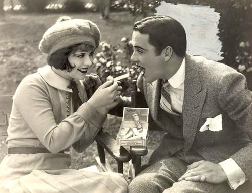 Clara Bow & Buddy Rogers
