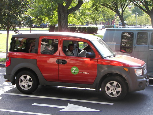 Zipcar on 6th Street SE