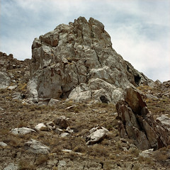 i kept you waiting (fliegender) Tags: california 6x6 rock desert dry roadtrip hasselblad deathvalley jdf trona portranc